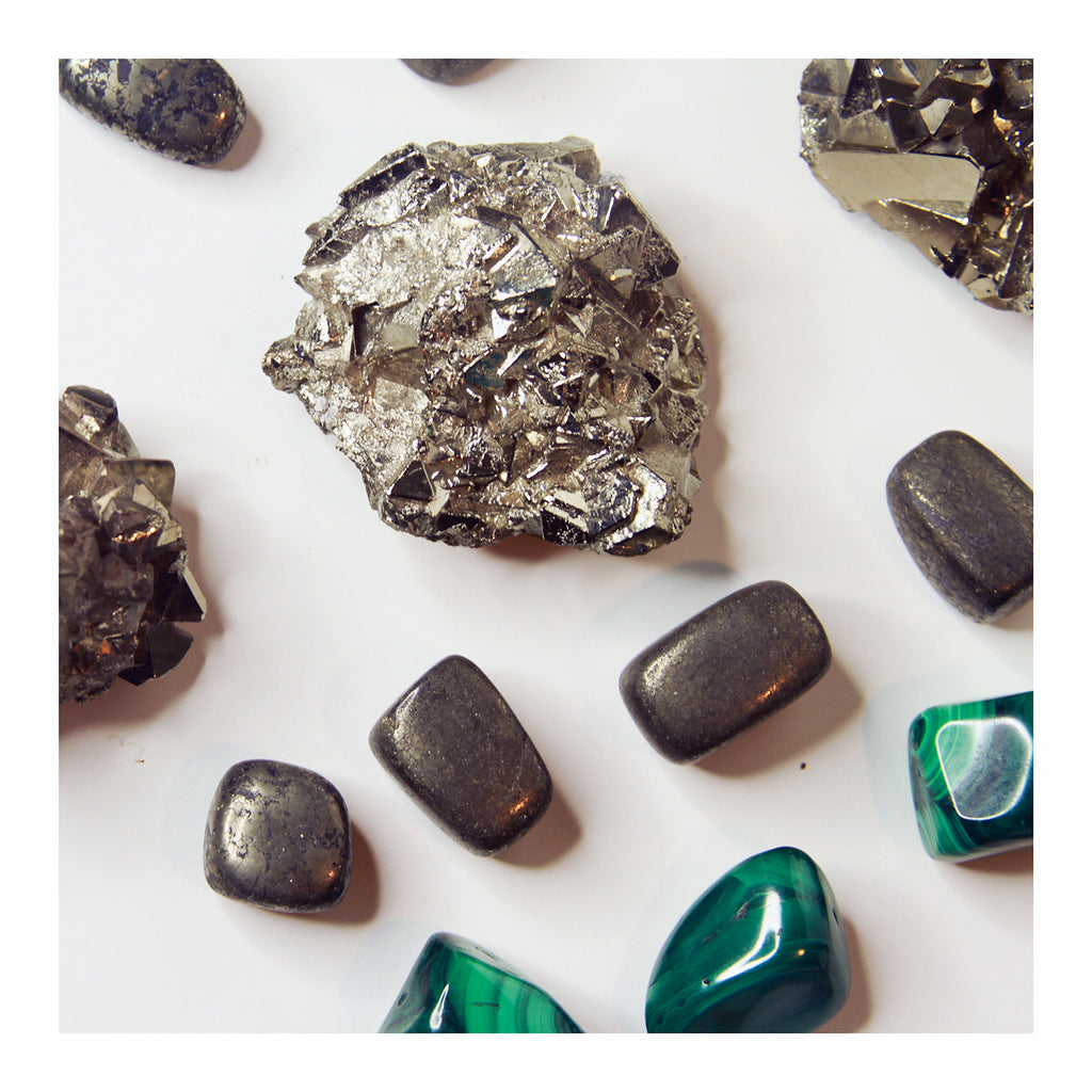 Pyrite - Crystalline Tribe