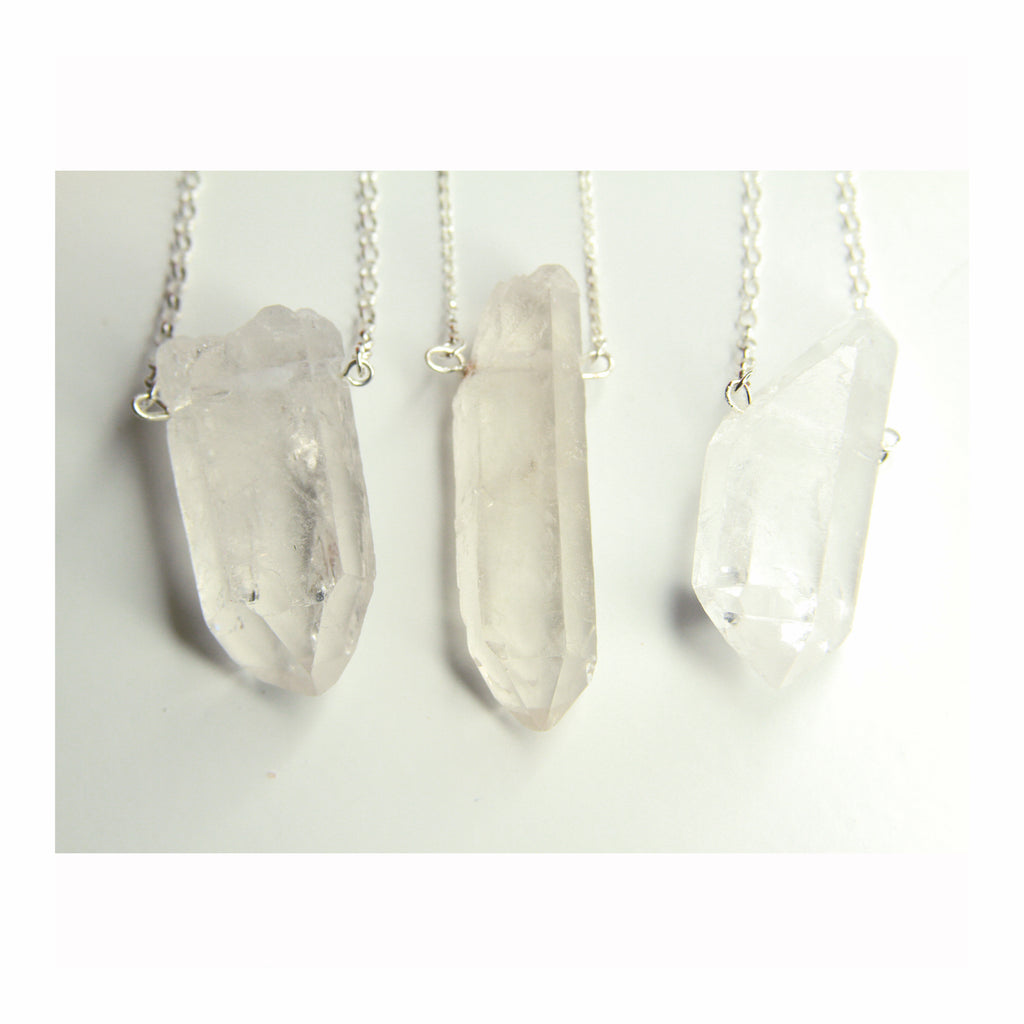 Master Healer Quartz Necklace - Crystalline Tribe