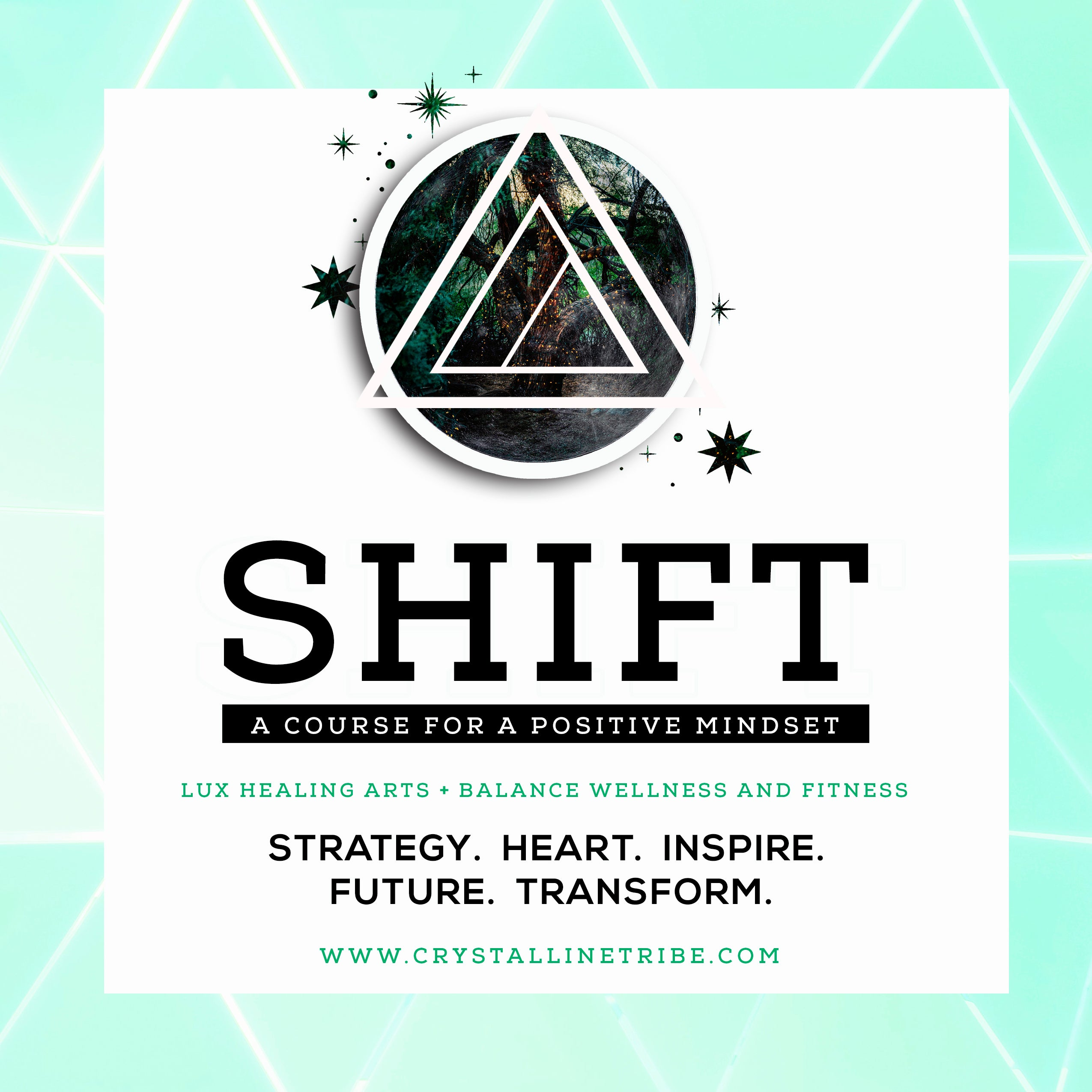 SHIFT Group Coaching Course - Crystalline Tribe