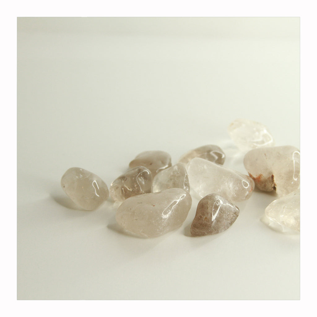 Smoky Quartz - Tumbled Stones - Crystalline Tribe