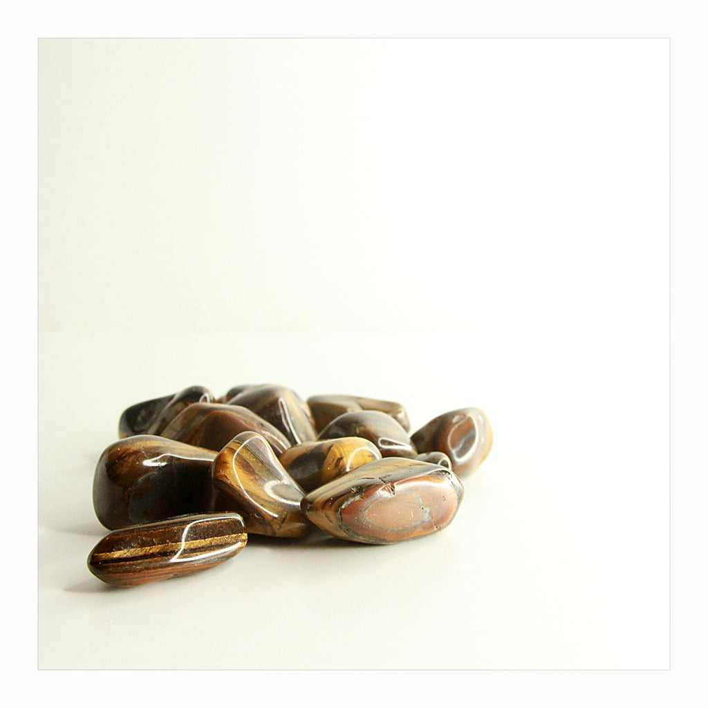 Tiger's Eye - Tumbled Stones - Crystalline Tribe
