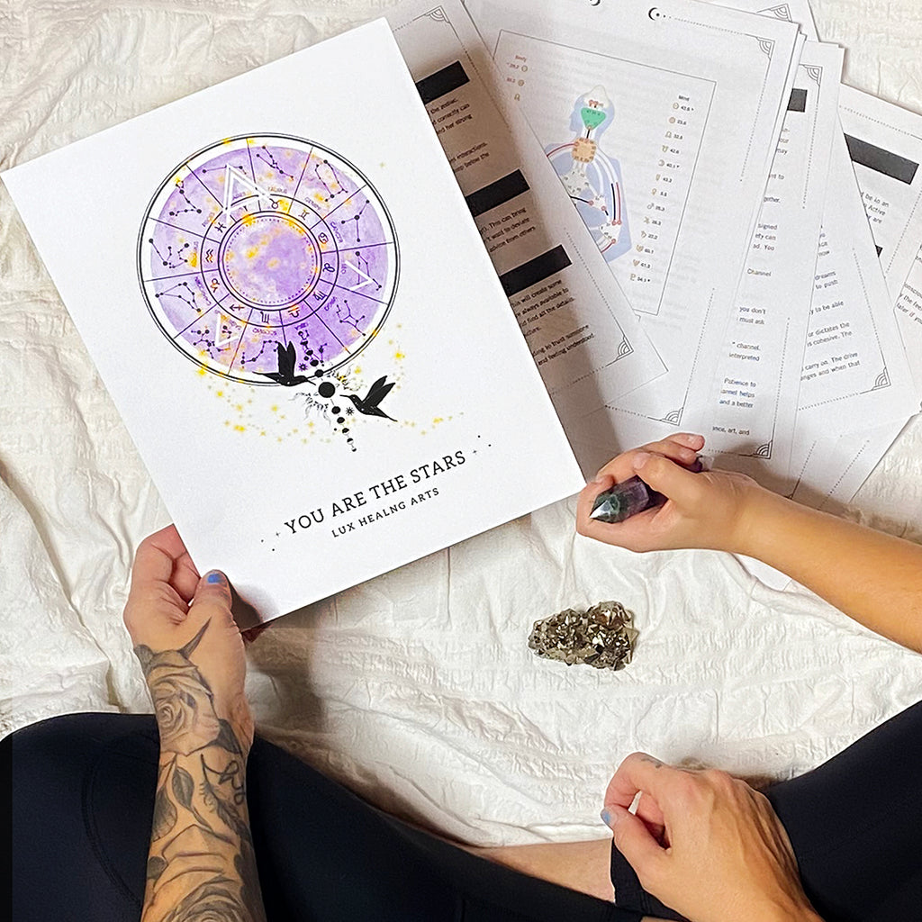 You are the Stars ✨ Birth Charts - Crystalline Tribe