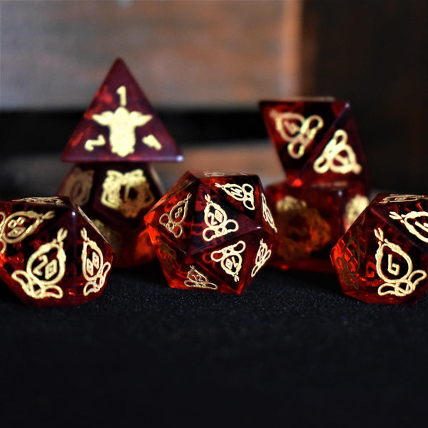 ELDER RUNES BLACK AND BRONZE METAL SET