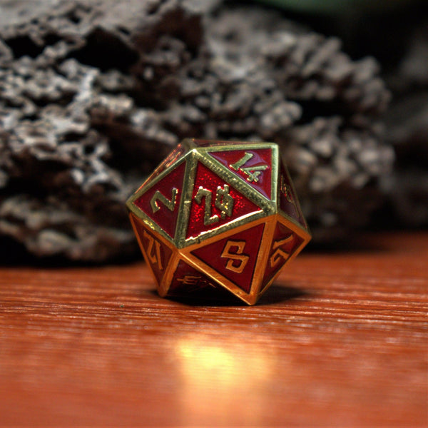 Metal dice, D&D dice, best metal dice, TABLETOP GAMING DICE