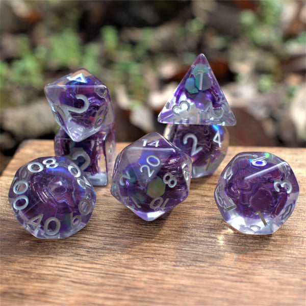ANDRINA MERMAID SCALES RESIN DICE SET