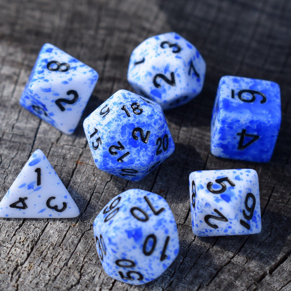 BEST ACRYLIC DICE - Tabletop gaming dice sets , MISTY MOUNTAIN GAMING - Misty Mountain Gaming