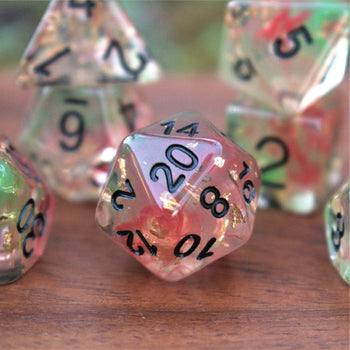 NOEL RESIN DICE SET