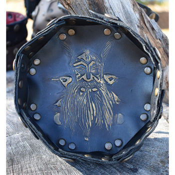 ODIN LEATHER DICE TRAY