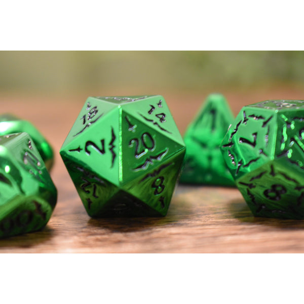 SWORD OF THE EMERALD ISLES METAL DICE SET