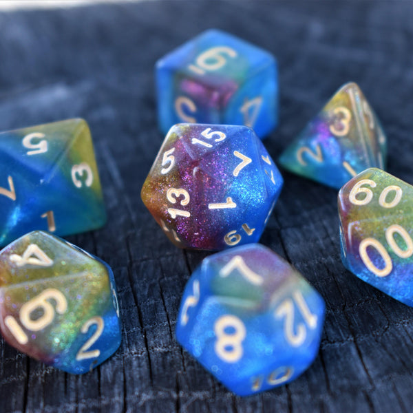 WORMHOLE - GALAXY COLLECTION DICE SET