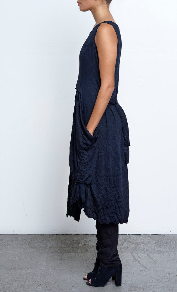 It's Everything Tunic/Dress in Black Crinkle