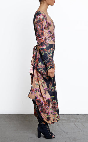 Retro Dress in Floral Pattern
