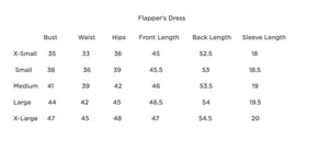 Flapper's Dress in Mesh Scallop Design