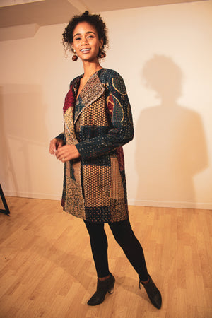 Hand-Made Patchwork Dancer's II Coat