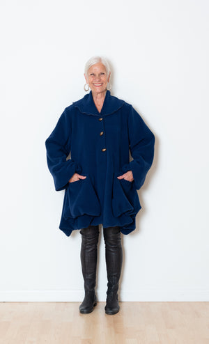 Fleece Bubble Coat