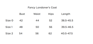 Fancy Londoner's Coat - 300 weight