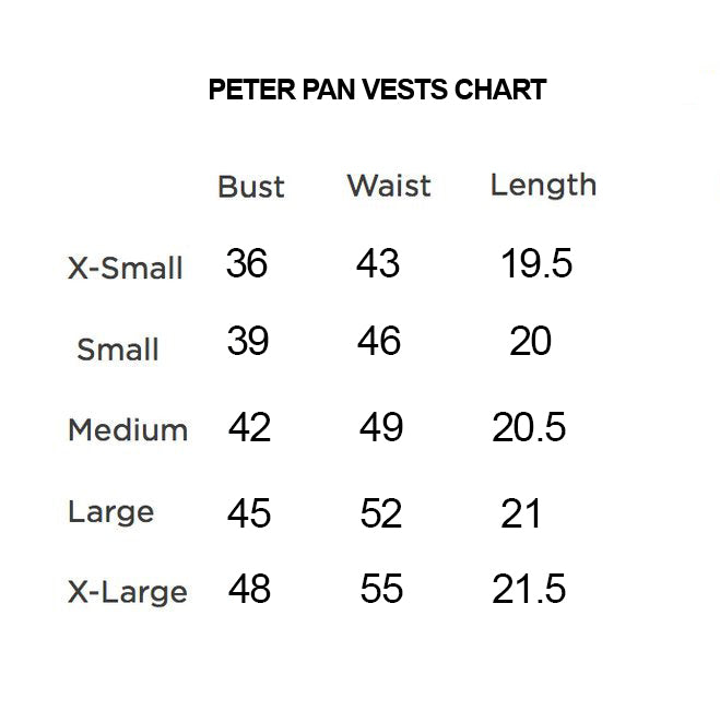 Peter Pan Multi Colors Vest