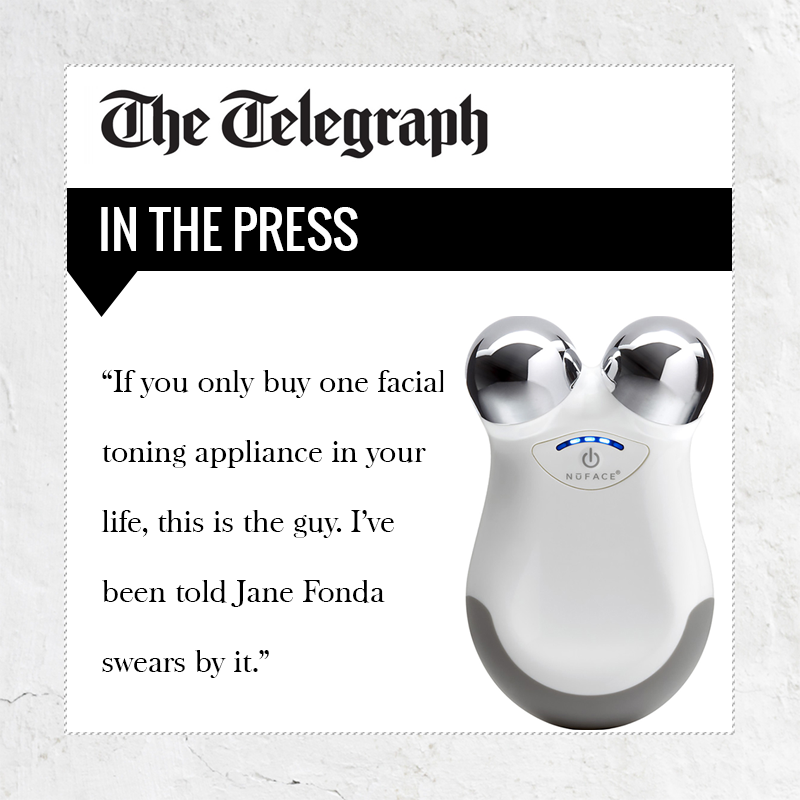 PRESS COVERAGE: NuFACE in The Telegraph