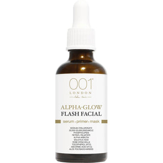 Image: 001 Skincare Alpha-Glow Flash Facial 3 in 1 Serum