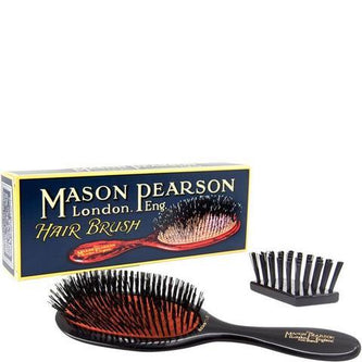 Image: Mason Pearson Medium Bristle & Nylon Junior Hair Brush