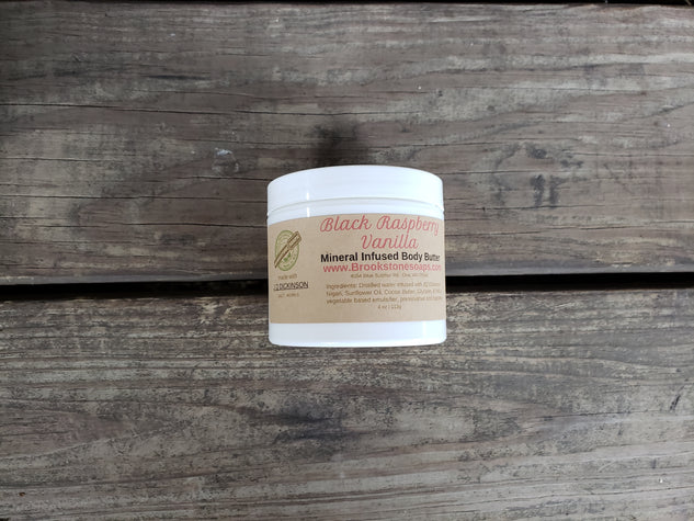 Natural Mineral-Infused Body Butter