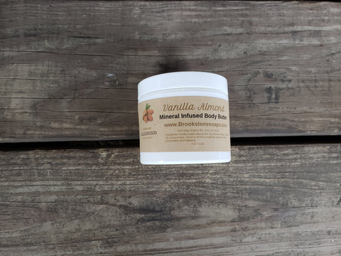 Natural Mineral-Infused Body Butter - J.Q. Dickinson