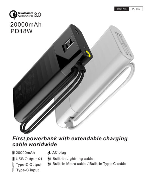 power bank also support fast charging,even faster than Xiaomi