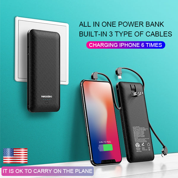 power bank is the best backup for AI