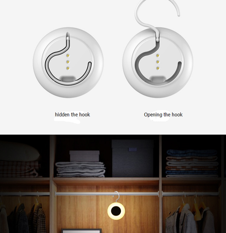 Heloideo wireless charger with lamp