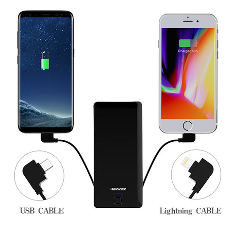 power bank with Type C and lighting cable PB085E