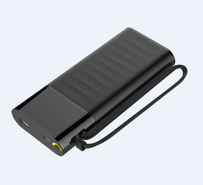 fast charging Power Bank 20000mah with PD18W and QC3.0 Quick charger built-in extandable charging cables PB165