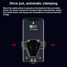 Load image into Gallery viewer, Wireless Car Charger mount Car Mount Wireless Charger 10W Qi Wireless Charger Phone Holder Compatible for iPhone XR /X /8 Samsung Galaxy S9 S8+ S8 S7 S7edge S6 All Qi Devices.