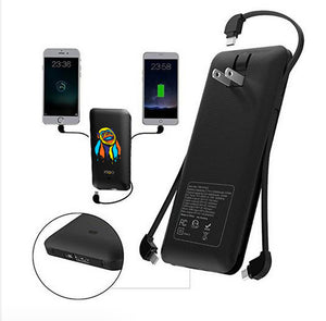 Heloideo large capacity portable charger