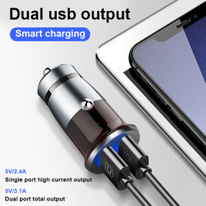 dual usb car charger heloideo