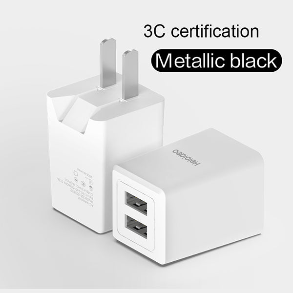 Dual usb wall charger Mini  Dual Port Wall Charger