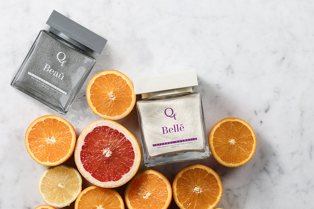Citrus Bellē and Beaū collagen supplements for immunity