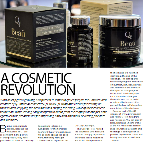 A Cosmetic Revolution - Metropol