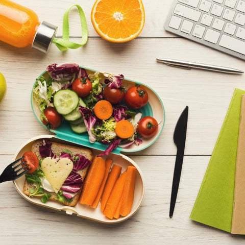 Healthy office lunchbox
