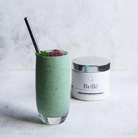 Mint choc chip smoothie