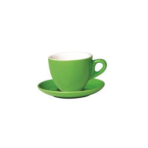 06.BELLY.CAP.MG Incafe Mint Green Belly Cappuccino Cup Globe Importers Adelaide Hospitality Suppliers