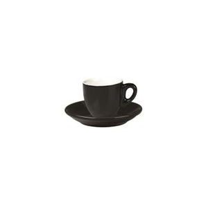 06.BELLY.ESP.BK Incafe Black Belly Espresso Cup Globe Importers Adelaide Hospitality Suppliers