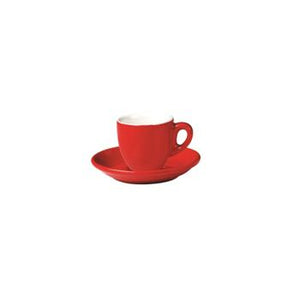 06.BELLY.ESP.RD Incafe Red Belly Espresso Cup Globe Importers Adelaide Hospitality Suppliers