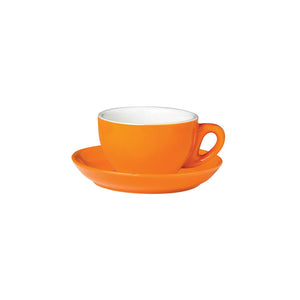 06.CAP.C.OR Incafe Orange Cappuccino Cup Globe Importers Adelaide Hospitality Suppliers