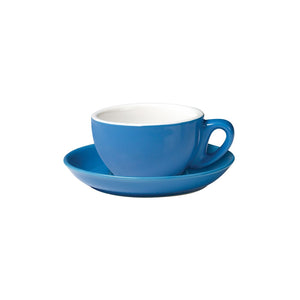 06.CAP.S.BL Incafe Blue Cappuccino Saucer Globe Importers Adelaide Hospitality Suppliers