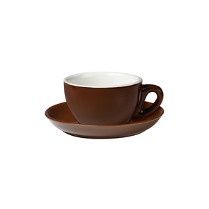 06.CAP.S.BR Incafe Brown Cappuccino Saucer Globe Importers Adelaide Hospitality Suppliers