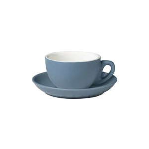 06.CAP.S.GY Incafe Grey Cappuccino Saucer Globe Importers Adelaide Hospitality Suppliers