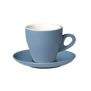 06.CAPTL.S.GY Incafe Grey Tulip Cappuccino Saucer Globe Importers Adelaide Hospitality Suppliers
