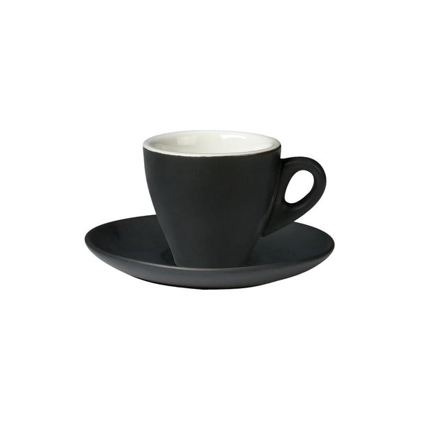 06.ESP.C.MB Incafe Matte Black Espresso Cup Globe Importers Adelaide Hospitality Suppliers