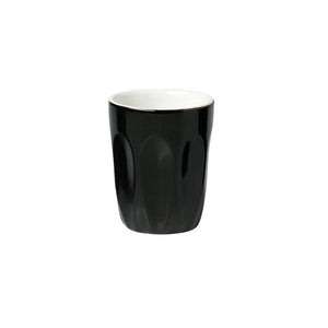 06.S10056.BK Incafe Black Latte Cup Globe Importers Adelaide Hospitality Suppliers