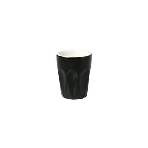 06.S10057.BK Incafe Black Macchiato Cup Globe Importers Adelaide Hospitality Suppliers